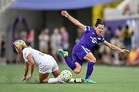 Orlando, FL - Saturday Sept. 24, 2016: Lisa De Vanna during a regular season National Women's Soccer League (NWSL) match between the Orlando Pride and FC Kansas City at Camping World Stadium.