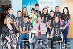 National Champion Shane Galvin and his Killarney Cycling club team mates who competed in the National Championships in Kanturk last weekend were presented sponsorship from Killarney Credit Union on Saturday front l-r: <br /> Helen Courtney-Power, Mike Kissane, Pat Delaney and Pauline Russell, back row: Sinead Barrett, Ethan Slattery, Almha Kissane, Shane Galvin, Patrick Galvin, Sarah McGrath,  Josh Hewerdine, Padraig Slattery and Tara Russell Kissane