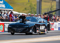 Jun 16, 2017; Bristol, TN, USA; NHRA pro mod driver Mike Castellana during qualifying for the Thunder Valley Nationals at Bristol Dragway. Mandatory Credit: Mark J. Rebilas-USA TODAY Sports