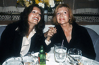Yasmin Khan and Rita Hayworth 1982<br /> Photo By Adam Scull/PHOTOlink/MediaPunch