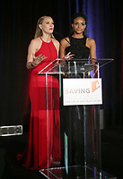 HOLLYWOOD, CA - SEPTEMBER 30: Kristen Dalton, Meagan Tandy, at The 6th Annual Saving Innocence Gala_Insde at Loews Hollywood Hotel, California on September 30, 2017. Credit: Faye Sadou/MediaPunch