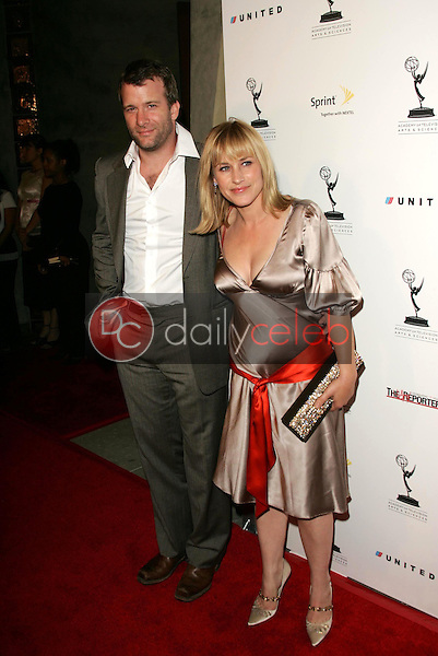 Thomas Jane and Patricia Arquette<br />