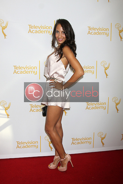 LOS ANGELES - JUN 19:  Christel Khalil at the ATAS Daytime Emmy Nominees Reception at the London Hotel on June 19, 2014 in West Hollywood, CA