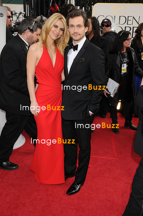 1/13/13.Claire Danes and Hugh Dancy at the 70th Annual Golden Globe Awards..(Beverly Hills, CA)