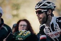 Laurens ten Dam (NED/Sunweb) on his way to sign-on<br /> <br /> Il Lombardia 2017<br /> Bergamo to Como (ITA) 247km