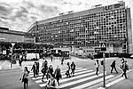 Gen&egrave;ve, le 12.10.2017<br /> Vues ext&eacute;rieures des H&ocirc;pitaux Universitaires de Gen&egrave;ve HUG.<br /> Le Courrier / &copy; C&eacute;dric Vincensini