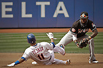 USA-Baseball NYMets Vs Marlins in New York
