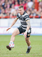 Picture by Allan McKenzie/SWpix.com - 30/03/2018 - Rugby League - Betfred Super League - Hull KR v Hull FC - KC Lightstream Stadium, Hull, England - Jamie Shaul.