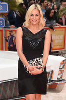 Jenni Falconer<br /> arrives for the premiere of &quot;The Nice Guys&quot; at the Odeon Leicester Square, London.<br /> <br /> <br /> &copy;Ash Knotek  D3120  19/05/2016