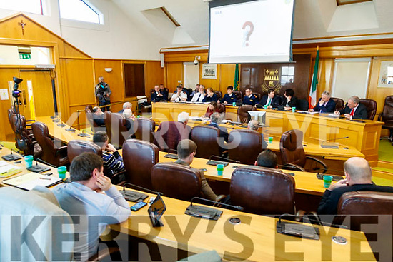 The Joint Policing Committee meeting at County Buildings, Tralee on Friday.