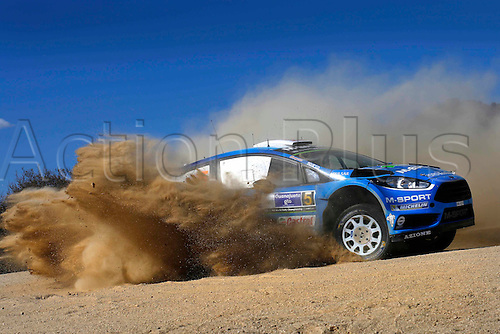 05.03.2016. Guanajuata, Mexico. WRC Rally of Mexico, Day 2.  Mads Ostberg (NOR) – Ola Floene (NOR) - Ford Fiesta RS WRC