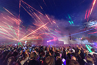 Wilderness Festival Saturday Spectacle where lazer and music join the main stage under the moon in Oxfordshire, August 5 2017. <br /> CAP/CAM<br /> &copy;Andre Camara/Capital Pictures