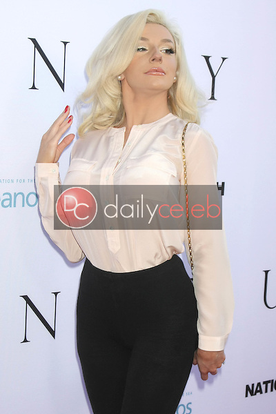 """Courtney Stodden<br /> <br /> at the """"Unity"""" Documentary World Premeire, Director's Guild of America, Los Angeles, CA 06-24-15"""