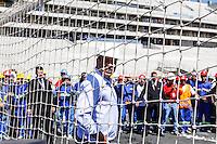 ATENCAO EDITOR IMAGEM EMBARGADA PARA VEICULOS INTERNACIONAIS - SAO PAULO, SP, 28 NOVEMBRO 2012 - COPA 2014 - VISTORIA ITAQUERAO - O membro do COL Ronaldo Nazario durante vistoria da Fifa ao Itaquerao, estadio que sediada o jogo de abertura da Copa do Mundo de 2014, neste quarta-feira, 28. (FOTO: WILLIAM VOLCOV / BRAZIL PHOTO PRESS).