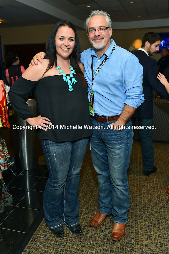 Lucchese hosts VIPs at the Houston Livestock Show & Rodeo with special guest Easton Corbin at Reliant Stadium