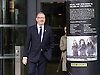 Len Mccluskey leaving the Andrew Marr show at Mediacity, Salford, Manchester, Great Britain <br /> 4th October 2015 <br /> <br /> Len McClusky <br /> Gen Sec <br /> Unite <br /> <br /> <br /> Photograph by Elliott Franks <br /> Image licensed to Elliott Franks Photography Services