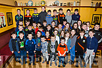 The juveniles who got awards at the Ballyheigue GAA Club's Juneville Awards evening in the White Sands Hotel on Sunday.