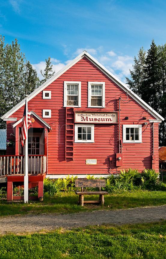 Talkeetna Historical Society Museum, Talkeetna, Alaska, AK, USA