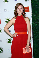 NEW YORK, NY - OCTOBER 4: Emily Deschanel at the  2018 Farm Sanctuary On the Hudson Gala honoring Carol Leifer, Tracye McQuirter and Dr. Kristi Funk in New York City on October 4, 2018. <br /> CAP/MPI99<br /> &copy;MPI99/Capital Pictures