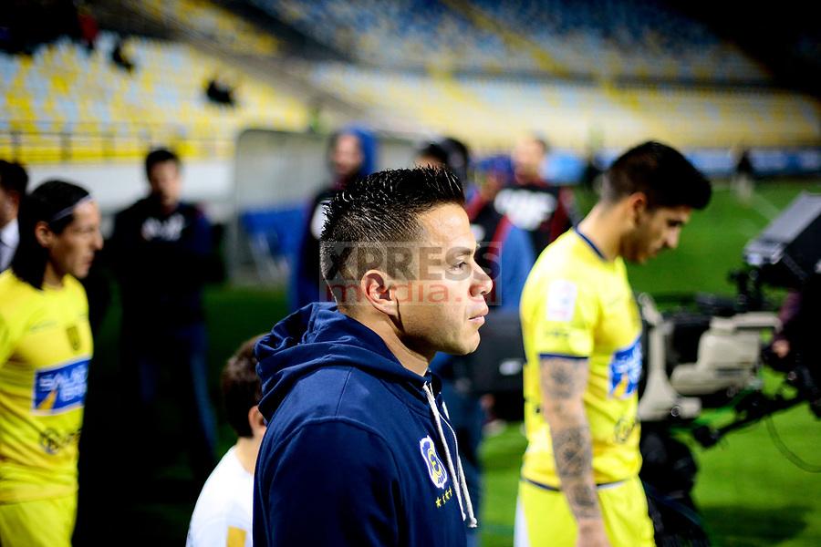 Viña del Mar 10 de Agosto 2018 / Alvaro Ramos sale al campo de juego, durante el partido entre los equipos de Everton vs Universidad de Concepcion por la decimonovena fecha del Campeonato Nacional 2018, jugado en el Estadio Sausalito FOTO: Osvaldo Villarroel - Xpress Media