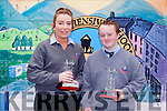 Marie O'Flaherty was awarded the Senior Ladies GAA title and Luke Kelly received the Principal's Award in Tarbert Comprehensive School this week.