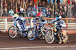 LAKESIDE HAMMERS v POOLE PIRATES<br /> FRIDAY 7THD JUNE 2013<br /> ELITE LEAGUE<br /> ARENA-ESSEX<br /> HEAT 7
