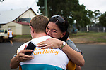 Batonbearer Daniel Gunnulson is embraced by his mother after carrying the Baton as the Queen's Baton Relay visited Mitchell. In the host state of Queensland the Queen's Baton will visit 83 communities from Saturday 3 March to Wednesday 4 April 2018. As the Queen's Baton Relay travels the length and breadth of Australia, it will not just pass through, but spend quality time in each community it visits, calling into hundreds of local schools and community celebrations in every state and territory. The Gold Coast 2018 Commonwealth Games (GC2018) Queen's Baton Relay is the longest and most accessible in history, travelling through the Commonwealth for 388 days and 230,000 kilometres. After spending 100 days being carried by approximately 3,800 batonbearers in Australia, the Queen's Baton journey will finish at the GC2018 Opening Ceremony on the Gold Coast on 4 April 2018.