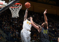 Jabari Bird of California dunks the ball during the game against UC Irvine at Haas Pavilion in Berkeley, California on December 2nd, 2013.  California defeated UC Irvine, 73-56.