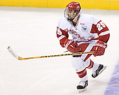AJ Degenhardt - The University of Wisconsin Badgers defeated the University of Maine Black Bears 5-2 in their 2006 Frozen Four Semi-Final meeting on Thursday, April 6, 2006, at the Bradley Center in Milwaukee, Wisconsin.  Wisconsin would go on to win the Title on April 8, 2006.