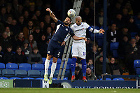 Stephen McLaughlin of Southend United and Jake Caprice of Tranmere Rovers during Southend United vs Tranmere Rovers, Sky Bet EFL League 1 Football at Roots Hall on 11th January 2020