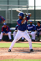 Leury Garcia / Texas Rangers 2008 Instructional League..Photo by:  Bill Mitchell/Four Seam Images