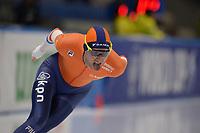 SPEEDSKATING: 09-12-2018, Tomaszów Mazowiecki (POL), ISU World Cup Arena Lodowa, 10.000m Men Division B, Jouke Hoogeveen (NED), ©photo Martin de Jong
