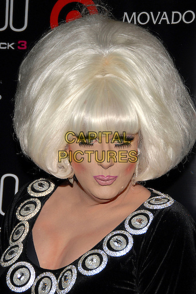 "LADY BUNNY.""Out""Magazine honors 100 most influential people in gay culture during ""Out 100 Awards"" at Capitale, New York, NY, USA, 10 November 2006..full length drag queen wig hair black dress make-up eyelashes.Ref: ADM/PH.www.capitalpictures.com.sales@capitalpictures.com.©Paul Hawthorne/AdMedia/Capital Pictures. *** Local Caption ***"