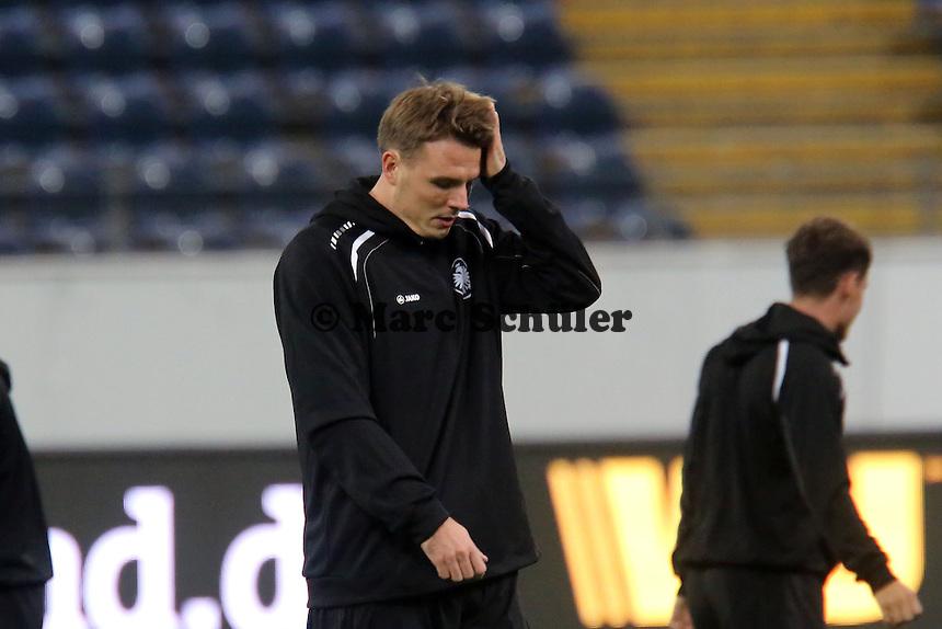 Alex Meier (Eintracht) - Training zur Begegnung der Europa League Eintracht Frankfurt vs. Girondins Bordeaux