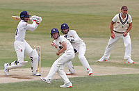 Feroze Khushi of Essex hits out during Essex CCC vs Kent CCC, Bob Willis Trophy Cricket at The Cloudfm County Ground on 4th August 2020