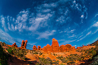 Garden of Eden, Arches National Park, near Moab, Utah USA