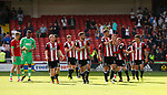 Lap of appreciation during the Championship match at Bramall Lane, Sheffield. Picture date 26th August 2017. Picture credit should read: Simon Bellis/Sportimage