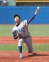 Kohei Miyadai ()<br /> MAY 7, 2016 - Baseball :<br /> Kohei Miyadai of Tokyo University pitches during the Tokyo Big6 Baseball League Spring game between Tokyo University 4-0 Rikkyo University at Jingu Stadium in Tokyo, Japan. (Photo by BFP/AFLO)