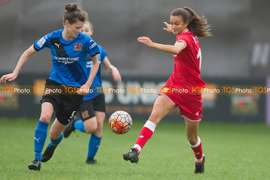 Rosella Ayane (Bristol W) during Sheffield FC Ladies vs Bristol City Women, FA Women's Super League FA WSL2 Football at the Coach and Horses Ground on 22nd May 2016