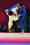 Yusuke Kobayashi (JPN), <br /> SEPTEMBER 1, 2018 - Judo : Mix Team Final at Jakarta Convention Center Plenary Hall during the 2018 Jakarta Palembang Asian Games in Jakarta, Indonesia. <br /> (Photo by MATSUO.K/AFLO SPORT)