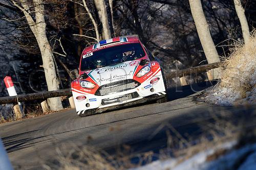 January 20th 2017, Monte Carlo, Monaco; 2017 WRC Monte Carlo Rally;  Bryan Bouffier (Ford Fiesta R5)