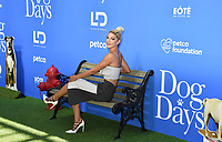 CENTURY CITY, CA - AUGUST 05: Jessica Szohr attends the premiere of LD Entertainment's 'Dog Days' at Westfield Century City on August 5, 2018 in Century City, California.<br /> CAP/ROT<br /> &copy;ROT/Capital Pictures