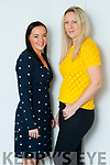 Tracy Fitzgerald and Becky Conlon who are in the finals of the Unislim awards.