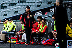 FC Seoul Head Coach Hwang Sun-hong (c) during the 2017 Lunar New Year Cup match between Auckland City FC (NZL) vs FC Seoul (KOR) on January 28, 2017 in Hong Kong, Hong Kong. Photo by Marcio Rodrigo Machado/Power Sport Images