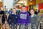 Students from the SEM Killarney pictured at the IT Tralee Open Day on Friday, from left: Padraig Clifford, Daragh Reen and Kieran Looney.
