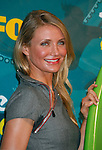 UNIVERSAL CITY, CA. - August 09: Actress Cameron Diaz poses in the press room during the Teen Choice Awards 2009 held at the Gibson Amphitheatre on August 9, 2009 in Universal City, California.