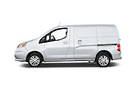 Car Driver side profile view of a2015 Chevrolet City Express LT 5 Door Cargo Van Side View