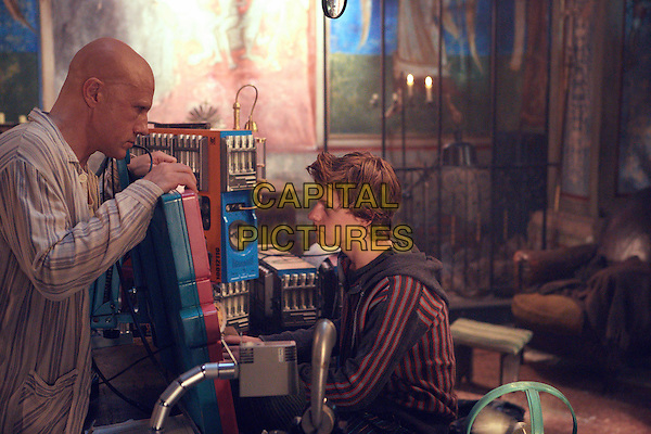 Christoph Waltz<br /> in The Zero Theorem (2013) <br /> *Filmstill - Editorial Use Only*<br /> CAP/NFS<br /> Image supplied by Capital Pictures