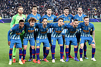 Atletico Madrid line-up during the Uefa Champions League 2018/2019 round of 16 second leg football match between Juventus and Atletico Madrid at Juventus stadium, Turin, March, 12, 2019 <br />  Foto Andrea Staccioli / Insidefoto