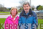Pictured at the rail line walk from St. Brendans Church, Tralee on Sunday from left: Sheila & Eddie Hanafin (Connolly Park)..